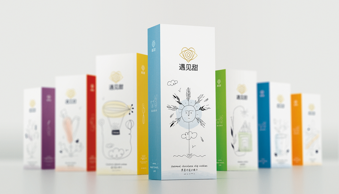 Graphic Design News >> Sophia S Sweet Design For Chinese Biscuits Meet Sweet Daily